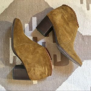 Frye Whipstitch Booties
